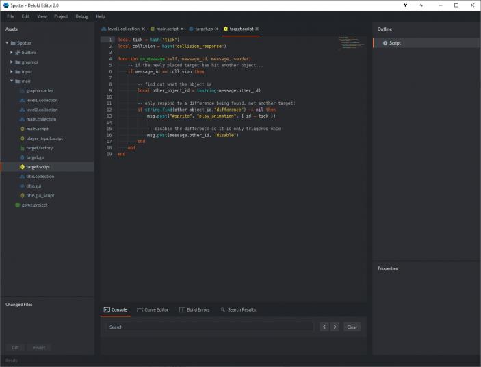 Lua script